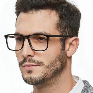 Mens Plastic Eyeglasses
