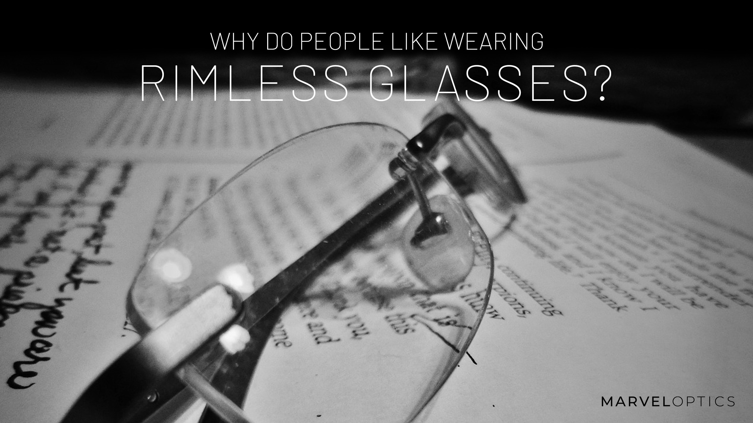 Rimless Glasses Blog