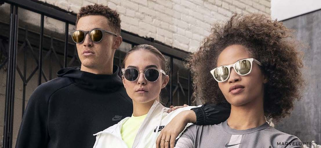 Group of Friends wearing Nike Glasses
