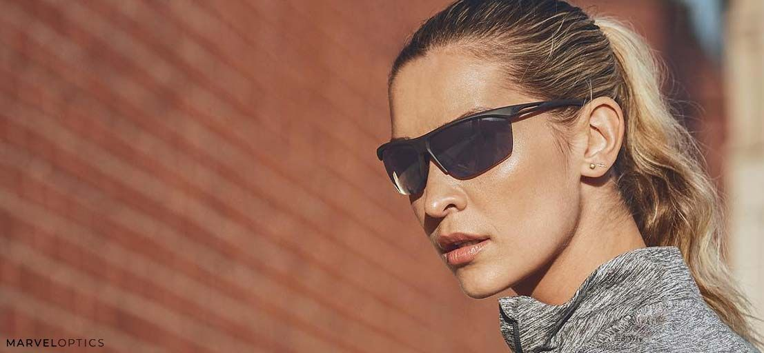 woman wearing Nike Prescription Sunglasses