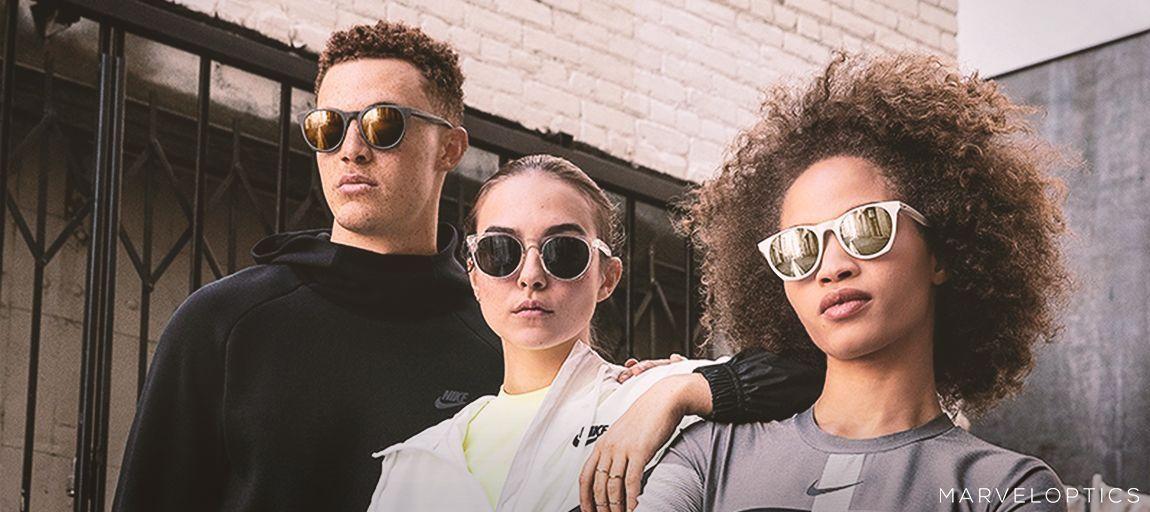 Friends wearing Nike sunglasses