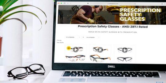 Picking the Best Possible Prescription Safety Glasses Online Header